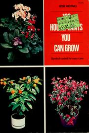 Cover of: 128 houseplants you can grow | Rob Herwig