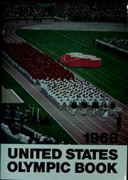 Cover of: 1968 United States Olympic book | U. S. Olympic Committee