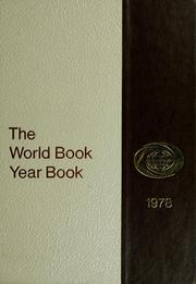 Cover of: The 1978 World Book year book |
