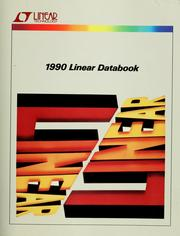 Cover of: 1990 linear detabook | Linear Technology Corporation.