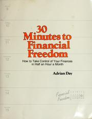 Cover of: 30 minutes to financial freedom | Adrian Day