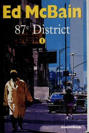 87e District. by Ed McBain