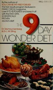 Cover of: The 9-day wonder diet | Seymour Isenberg