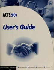 Cover of: ACT! 2000 |