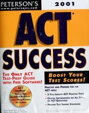 Cover of: ACT success |