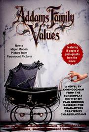 Cover of: Addams family values | Ann Hodgman