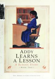 Cover of: Addy learns a lesson | Connie Rose Porter