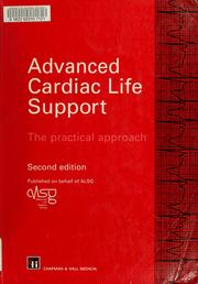 Cover of: Advanced cardiac life support |