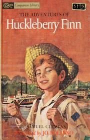 Cover of: The adventures of Huckleberry Finn by Mark Twain