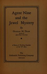 Cover of: Agent Nine and the jewel mystery | Graham M. Dean
