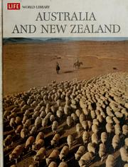 Cover of: Australia and New Zealand | Colin MacInnes