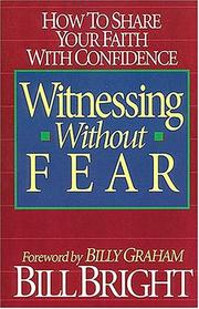 Cover of: Witnessing without fear