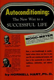 Cover of: Autoconditioning by Hornell Hart