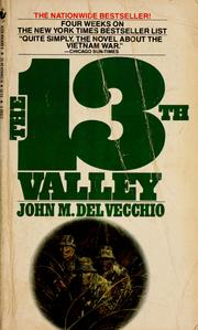 Cover of: The 13th valley, a novel | John M. Del Vecchio