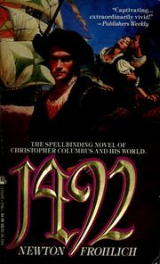 Cover of: 1492 | Newton Frohlich