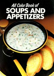 Cover of: All color book of soups and appetizers |
