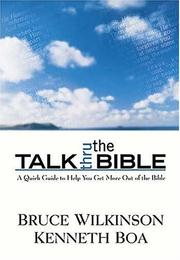 Cover of: Talk thru the Old Testament