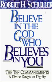 Cover of: Believe in the God who believes in you