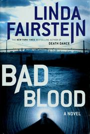Cover of: Bad blood | Linda Fairstein