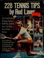 Cover of: 228 tennis tips | Rodney George Laver