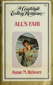 Cover of: All's fair | Anne N. Reisser