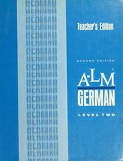 Cover of: A-LM German | George Winkler