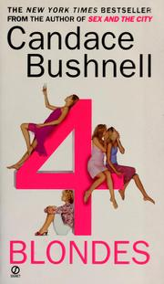 Cover of: 4 blondes | Candace Bushnell