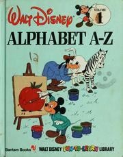 Cover of: Alphabet A-Z | Walt Disney Productions