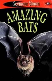 Cover of: Amazing bats | Seymour Simon