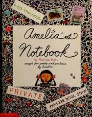 Cover of: Amelia's notebook | Marissa Moss