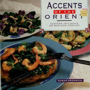 Cover of: Accents of the Orient | Susan Grodnick