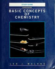 Cover of: Basic concepts of chemistry | Leo J. Malone