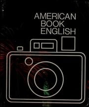 Cover of: American Book English | H. Thompson Fillmer, H. Thompson Fillmer, Ann Lefcourt, Neil C Thompson