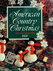Cover of: American country Christmas, 1991 |