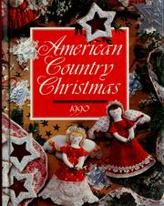 Cover of: American country Christmas, 1990 |