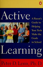 Cover of: Active learning | Peter D. Lenn