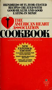 Cover of: The American Heart Association cookbook | Ruthe Eshleman