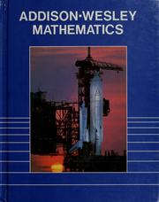 Cover of: Addison-Wesley Mathematics (Student Book, Grade 6) |