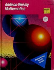 Cover of: Addison-Wesley Mathematics |