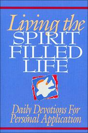 Cover of: Living the spirit filled life
