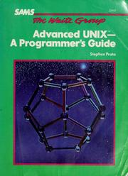 Cover of: Advanced UNIX | Stephen Prata
