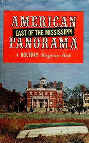 Cover of: American panorama | Holiday.