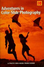 Cover of: Adventures in color-slide photography | Eastman Kodak Company