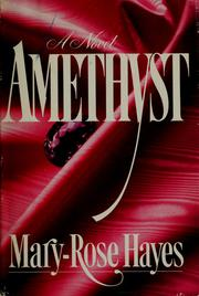 Cover of: Amethyst | Mary-Rose Hayes