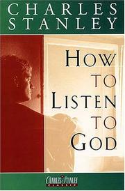 Cover of: How to Listen to God