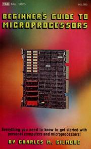 Cover of: Beginner's guide to microprocessors by Charles Minot Gilmore