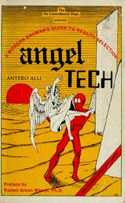 Cover of: Angel tech | Antero Alli