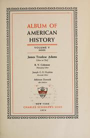 Cover of: Album of American history