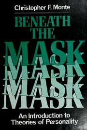 Cover of: Beneath the mask | Christopher F. Monte
