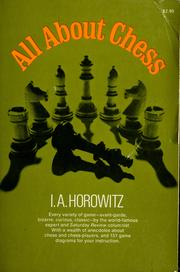 Cover of: All about chess